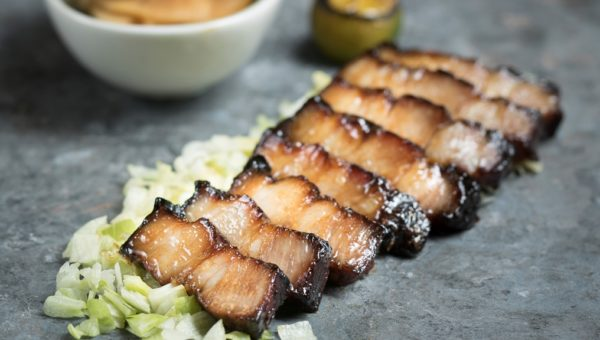 Hickory Smoked Honey-glazed Kurobuta Pork Belly