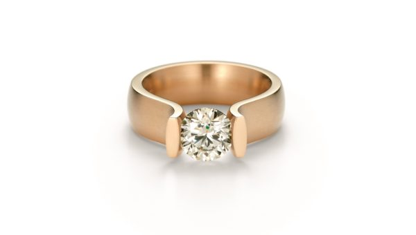 Niessing Ring Lucia Classic Red Gold (Flat shot)