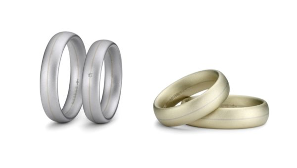 Niessing Seele Rings (Fine Gray Coated and Classic Yellow Gold)