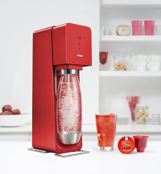 SOURCE SodaStream red