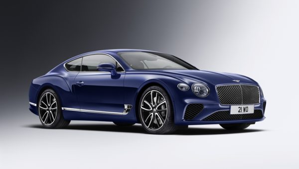 New Continental GT Exterior Paint