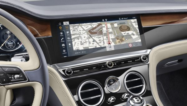 New Continental GT Screen