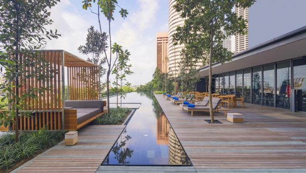 Outdoor Infinity Pool
