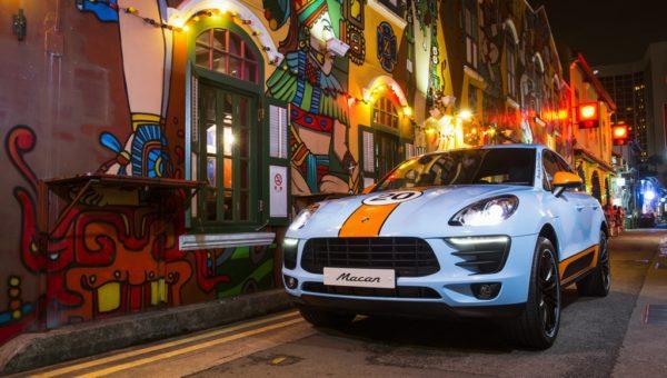 Porsche Macan Team Gulf Design (Haji Lane, Singapore)