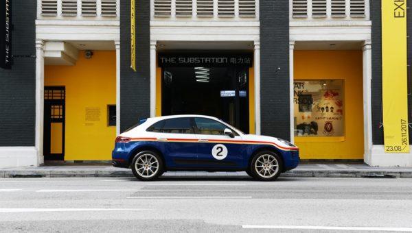 Porsche Macan Team Rothmans Design (Armenian Street, Singapore)