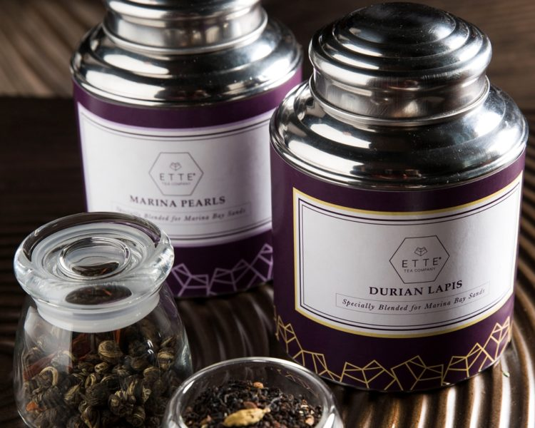 Unique tea blends - Marina Pearls and Durian Lapis