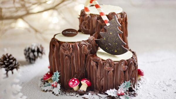 Triplette Chocolat Cake Log