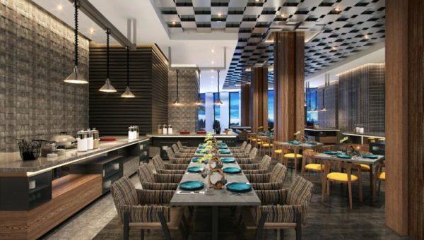 Amara Signature Shanghai - All Day Dining - BLU