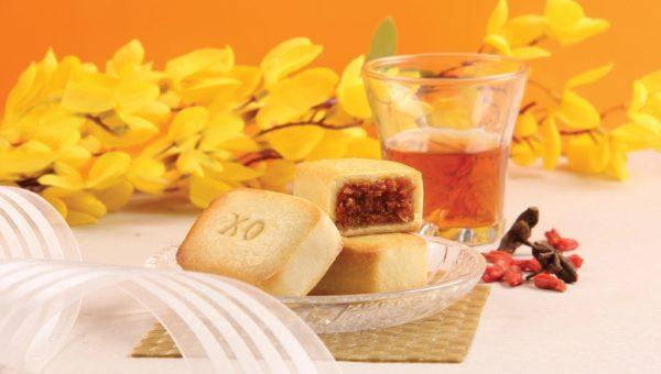 XO Golden Pillow Pineapple Tarts