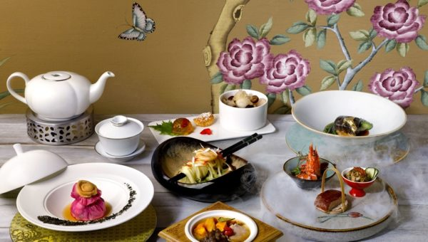 tea-infused six-course degustation menu