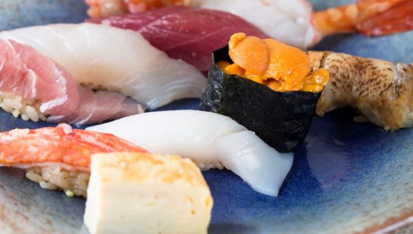 Assorted special sushi