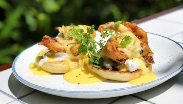 Soft-shell Crab Benedict