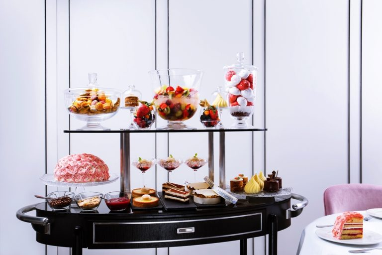 Tablescape - Dessert Trolley