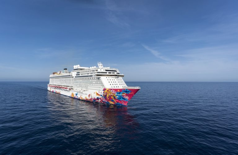 Genting Dream Side View