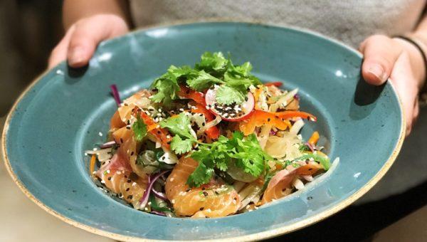 Salmon Pomelo Salad