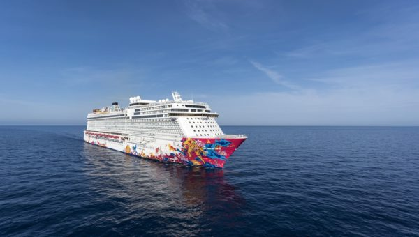 Genting Dream Side View (1)