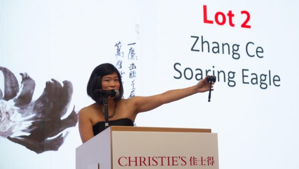 Ms Sara Mao (from Christie's)