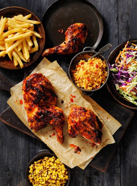 Oporto Number One Portuguese Flame Grilled Chicken Chain From