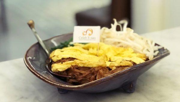 Thai Hot Noodles Korat Style