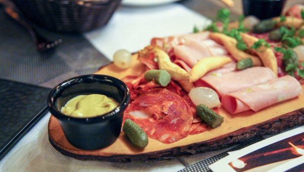 charcuterie Cold Cuts Platter