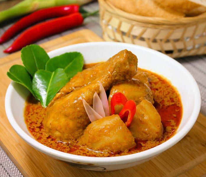 Kapitan Chicken Curry