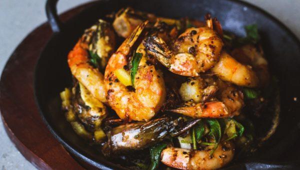 Summerlong_Roasted Garlic Prawns