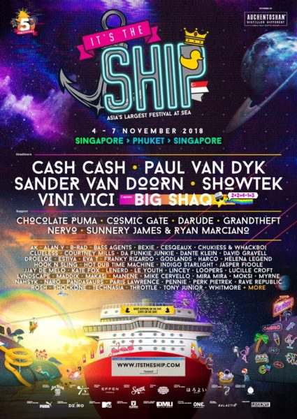 IT'S THE SHIP Singapore 2018 Official Lineup_Poster