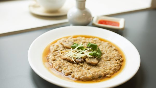 Steamed Pork Patty with Salted Fish