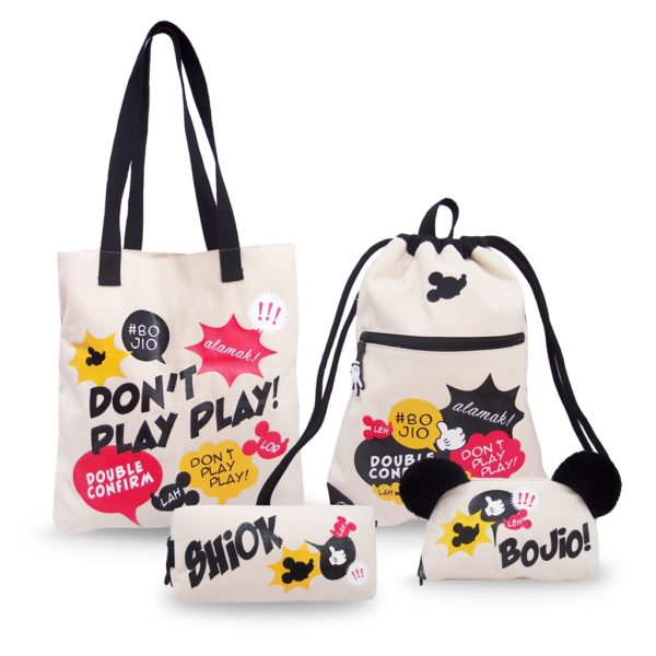 Assorted Mickey Canvas Bags by BG Streets
