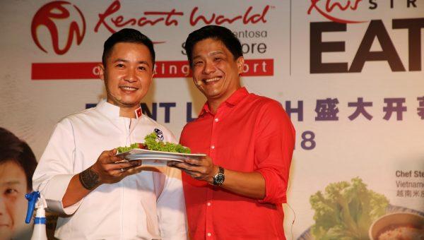 Chef Steven Long (Top Chef Vietnam 2014 finalist) & Dr Leslie Tay (ieatishootipost)