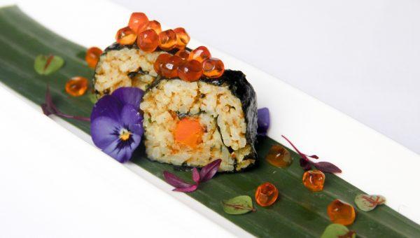 Masala Rice Sushi