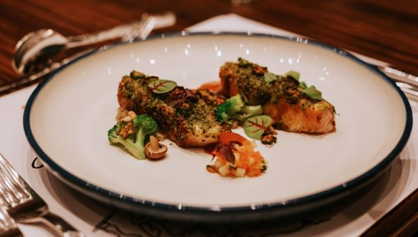 [Once Upon a Ginger Chicken] Curry Crusted Red Snapper Loin