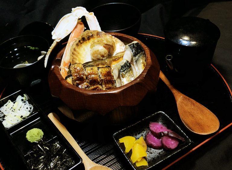 Autumn Seafood Hitsumabushi
