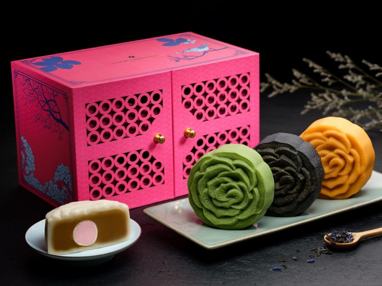 Man Fu Yuan_Snowskin Mooncake-Tea Collection