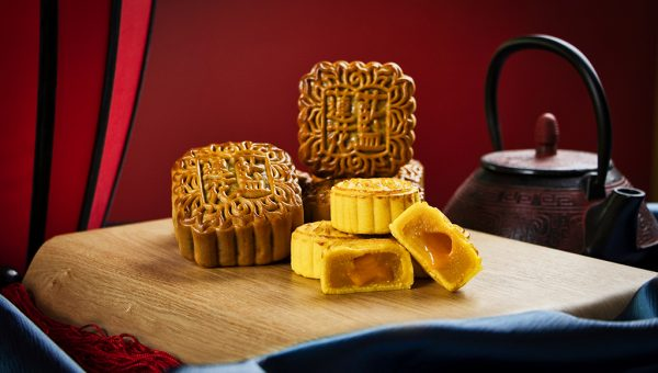 Mini Golden Lava Mooncakes