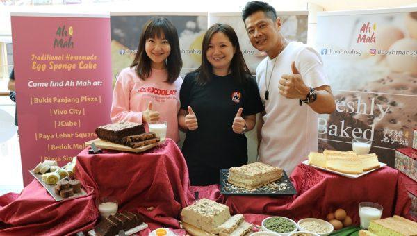UFM 100.3- DJ Kemin, Ah Mah CEO- Serene Ang & Li NanXing