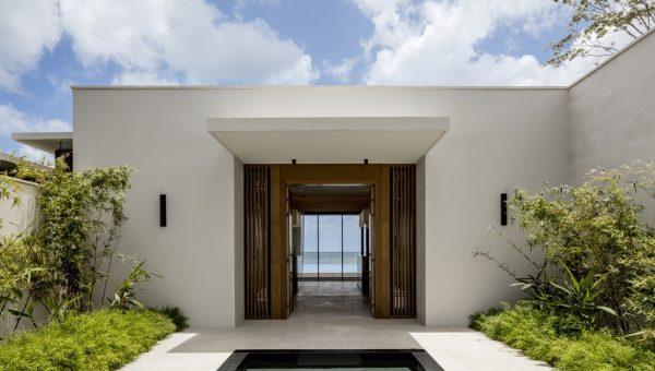 Silversands Villa Entrance