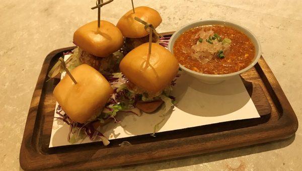 Mini Crab Burgers