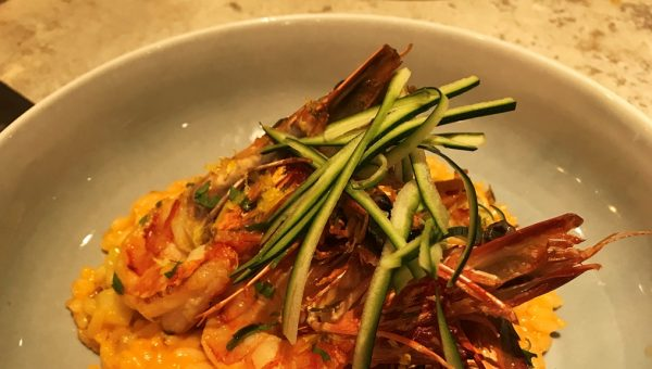 Tiger Red Prawns Risotto