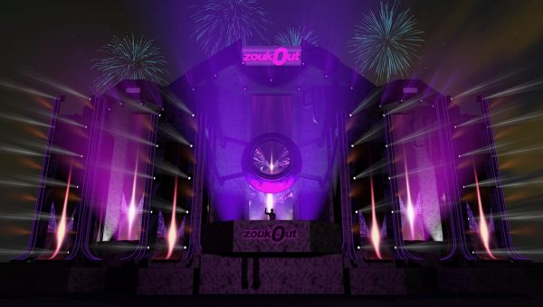 ZoukOut Set Design Artist Impression