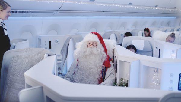 Finnair_Santa