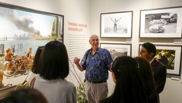 Magnum Photographer Thomas Hoepker at the Leica Galerie