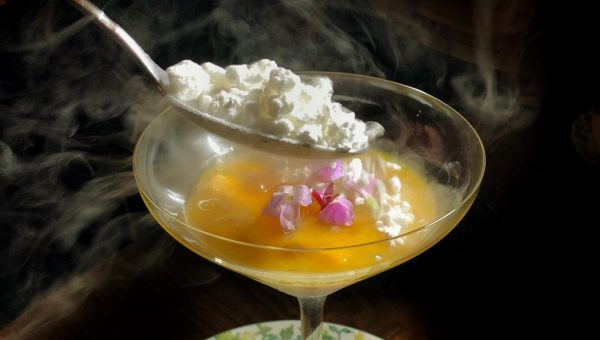 mango Pomelo Sago with Coconut Snow