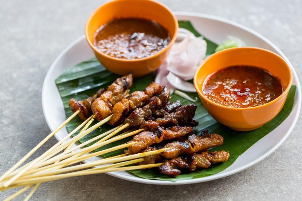 Traditional Satay