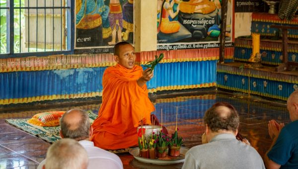 Traditional Monk's Blessing