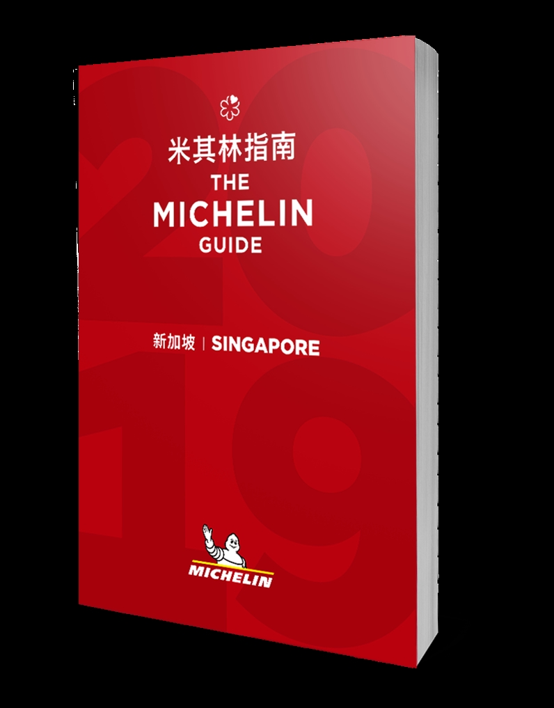 MICHELIN Guide SG Cover 2019