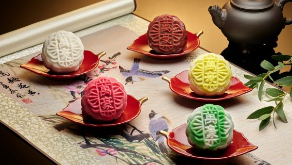 Assorted Snowskin Mooncakes