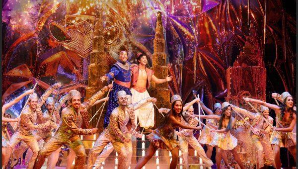(Friend Like Me) Graeme Isaako as Aladdin with Gareth Jacobs as Genie - Deen Van Meer