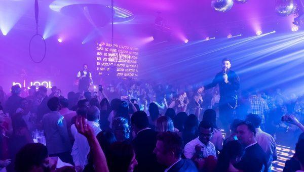 Podium Lounge Singapore 2018 - Keith Duffy & Brian McFadden of Boyzlife Performing Live at The Podium Lounge 2018
