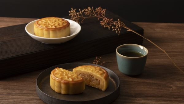 SunnyHills Pineapple Custard Mooncake
